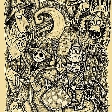 Nightmare in Oz by SquareDog