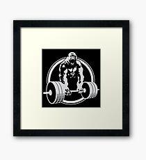 Gorilla Gym Framed Print