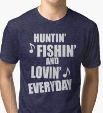 Funny Country Song Shirt Tri-blend T-Shirt
