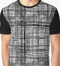 Cool Grungy Pattern Graphic T-Shirt