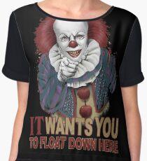 Float Down Here Chiffon Top