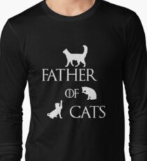 FATHER OF CATS Long Sleeve T-Shirt