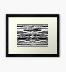 Cool Grungy Pattern Framed Print