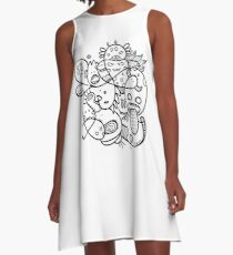 Doodle A-Line Dress