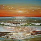 Sunset Beach by Cherie Roe Dirksen