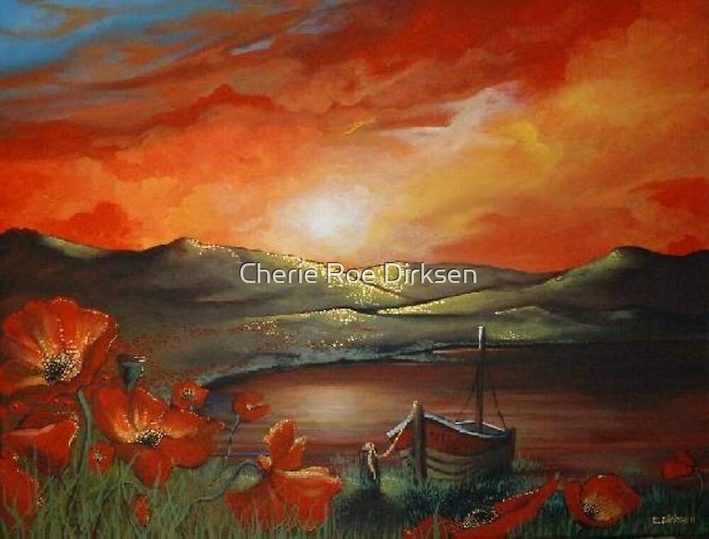 Sunset Reflections  by Cherie Roe Dirksen