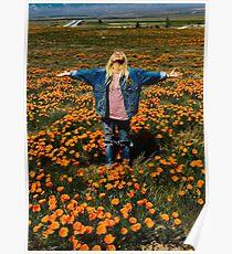 Hayley Kiyoko Field of Flowers Poster