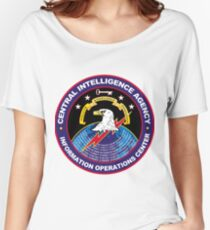 CIA Information Operations Center Logo Women's Relaxed Fit T-Shirt