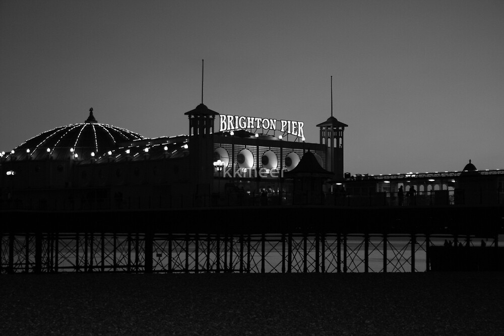 Brighton Pier by kkmeer