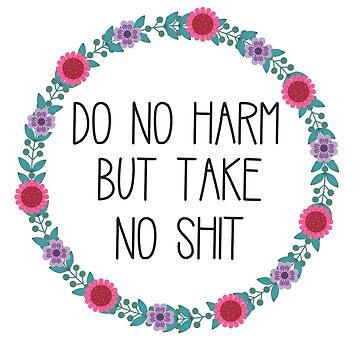 No haga daño, pero no lo haga de annmariestowe