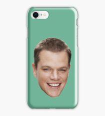Matt Damon iPhone Case/Skin