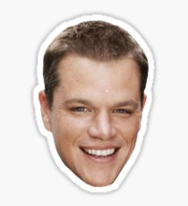 Matt Damon Sticker