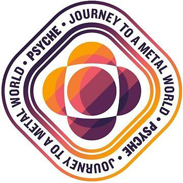 Psyche Mission Logo by Quatrosales