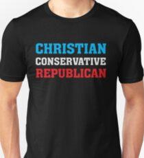 Christian Conservative Republican - T-Shirt