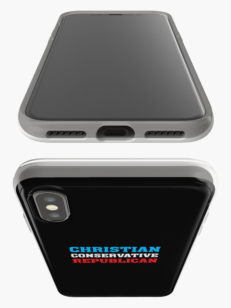 Alternate view of Christian Conservative Republican - iPhone Cases & Covers
