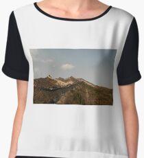 The Great Wall of China Chiffon Top
