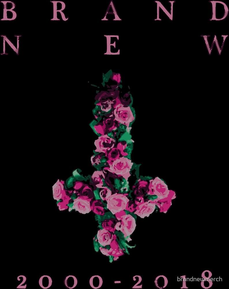 """Brand New """"Farewell Cross"""" by brandnewmerch"""
