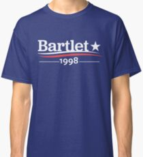 WEST WING President BARTLET 1998  White House Classic T-Shirt