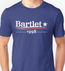 Camiseta ajustada WEST WING Presidente BARTLET 1998 Casa Blanca