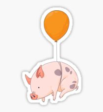 When Pigs Fly Sticker