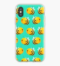 Bumble Bee Mint iPhone Case