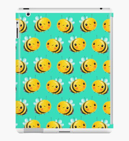 Bumble Bee Mint iPad Case/Skin