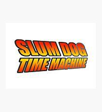Slum Dog Time Machine Photographic Print
