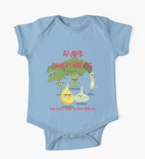 Angry Vegetables -Eat Us If You Dare! Kids Clothes
