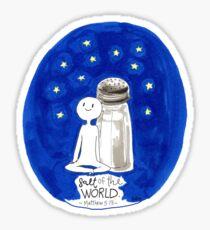 Salt of the World. Sticker