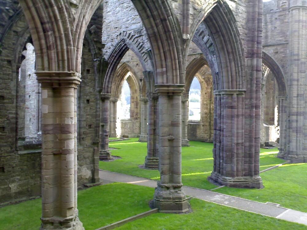 Tintern Abbey by MickLilley