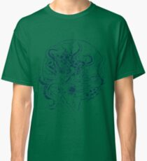 Giant Sea Monster Teal | Myths Classic T-Shirt