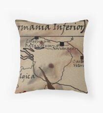 Germania Inferior Throw Pillow