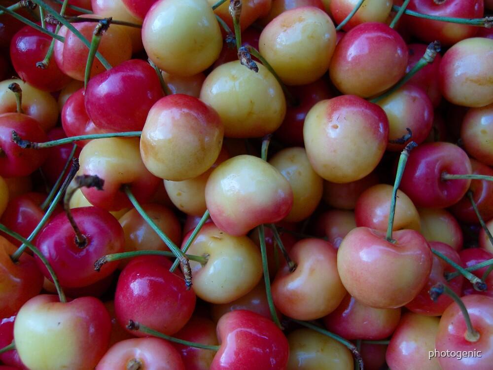 just cherries by photogenic