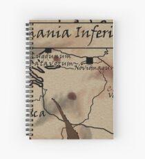 Germania Inferior Spiral Notebook