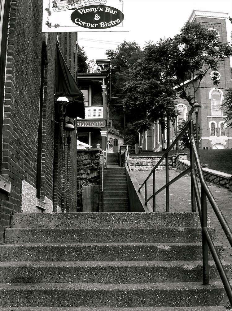 The Stairway Bistro... by Emily Allison