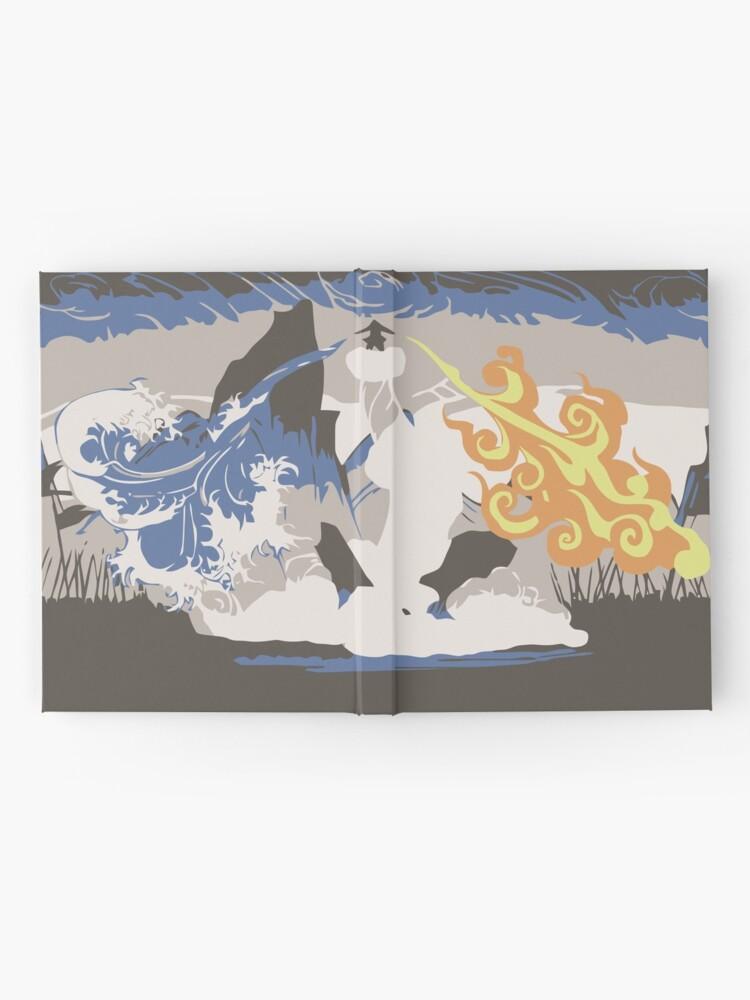 Alternative Ansicht von Avatar Wan Notizbuch