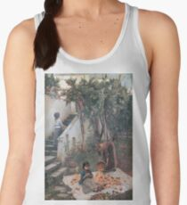 John William Waterhouse - The Orange Gatherers Women's Tank Top