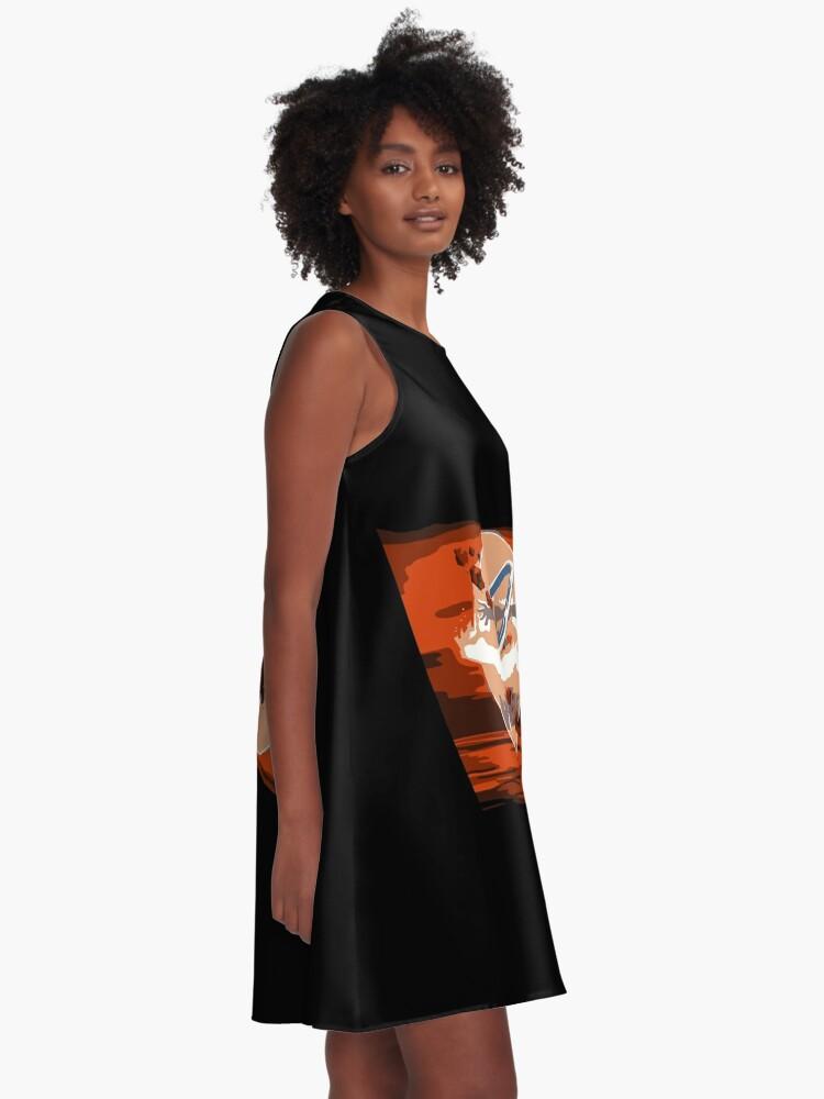Alternative Ansicht von Avatar Staat A-Linien Kleid
