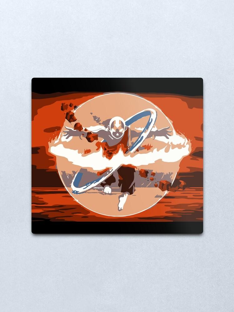 Alternative Ansicht von Avatar Staat Metallbild