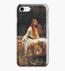John William Waterhouse - The Lady Of Shalott 1888 iPhone Case/Skin