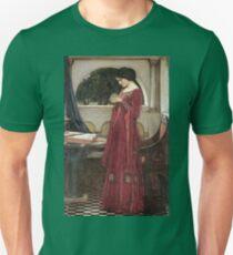John William Waterhouse - The Crystal Ball Unisex T-Shirt