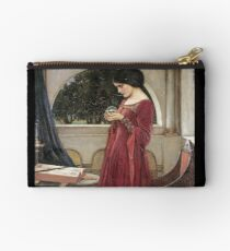 John William Waterhouse - The Crystal Ball Studio Pouch