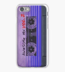Awesome Mix Vol. 2 (Purple) iPhone Case/Skin