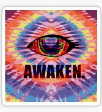 awaken. Sticker