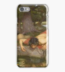 John William Waterhouse - Echo And Narcissus 1903 iPhone Case/Skin