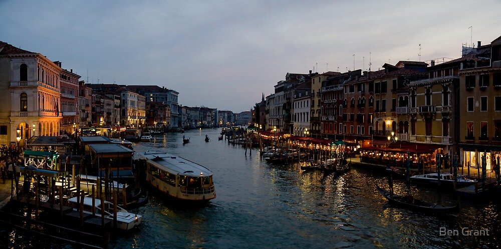 An Evening in Venice by Ben Grant