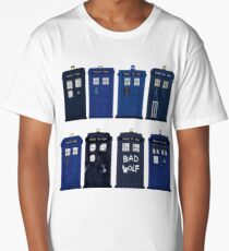 Doctor Who - The TARDIS Long T-Shirt