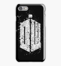 Dr. Who - Splatter art iPhone Case/Skin