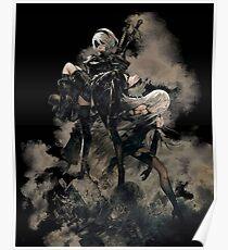 Nier: Automata Black Poster