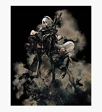 Nier: Automata Black Photographic Print